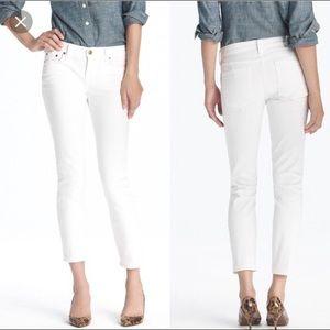 J. Crew Matchstick Crop Pants